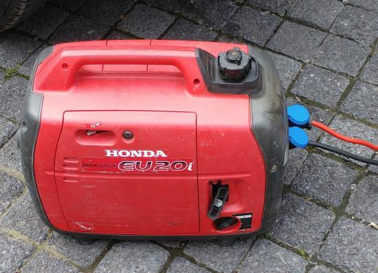 Notstromaggregat Test Honda