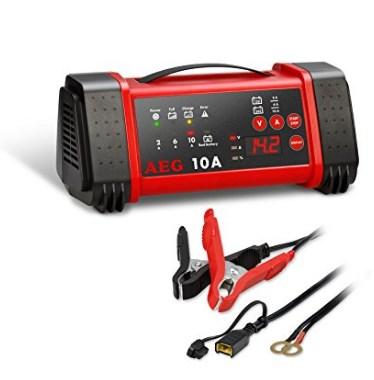Autobatterie Ladegerät Vergleich AEG Automotive