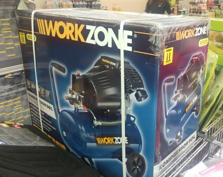 workzone kompressor aldi
