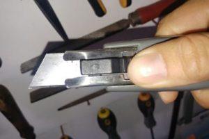 Cuttermesser Sicherheit
