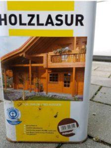 Holzlasur Testsieger