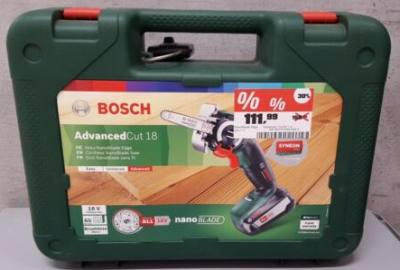 Bosch Nanoblade Test Advanced Cut
