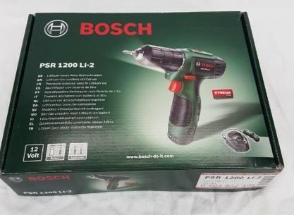 Bosch PSR 1200 LI-2 Test