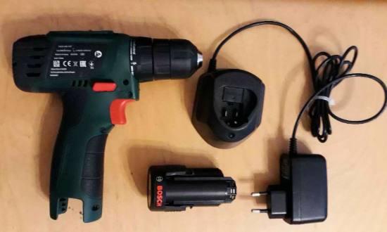 Test Bosch PSR 1200 LI-2