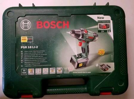 Test Bosch PSR Li 2